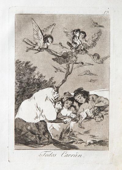 Francisco de Goya, 'Todos Caeran', 1799