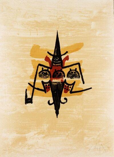 Wifredo Lam, 'El último viaje del buque fantasma 12', 1976