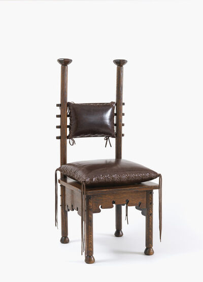Charles Rohlfs, 'Chair', 1901