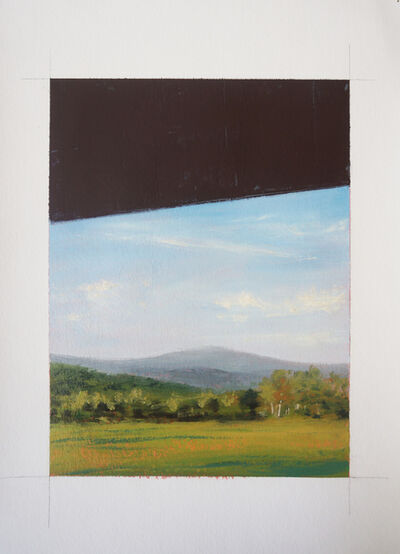 Adam Straus, 'Black, Blue and Green', 2013