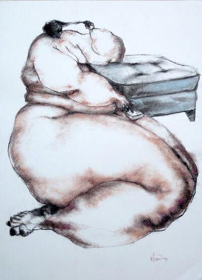 Uthman Wahaab, 'Nude (cigarette)', 2017