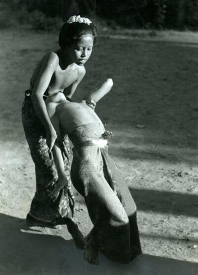 Gotthard Schuh, 'Two Balinese Children Dancing c 1930', 1930s