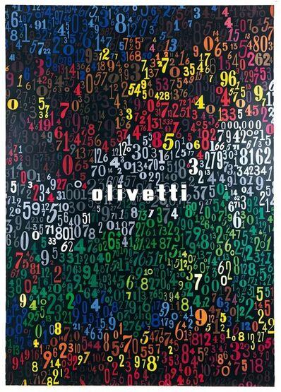 Giovanni Pintori, 'OLIVETTI', 1953