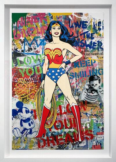 Mr. Brainwash, 'Wonder Woman', 2020
