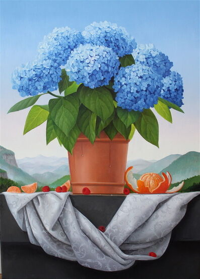 James Aponovich, 'Hydrangea', 2014