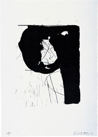 Robert Motherwell, 'Poet II', 1962