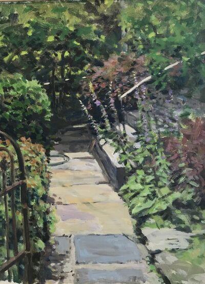 Richard Crozier, 'Front Walk with Bellflowers', 2018