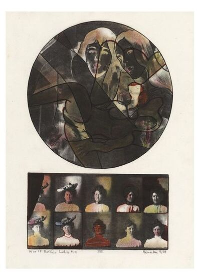 Robert Heinecken, '14 or 15 Buffalo Ladies #1C', 1969