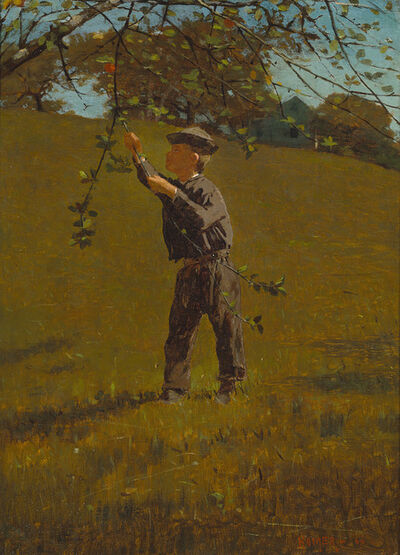 Winslow Homer, 'Green Apples', 1866