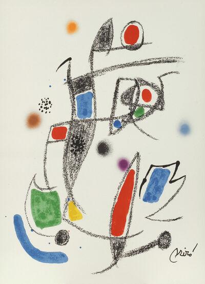 Joan Miró, 'Maravillas No.10. Marvels No.10.', 1975
