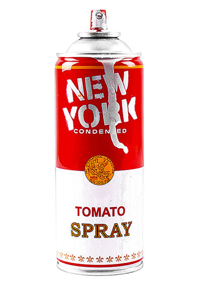 Mr. Brainwash, 'NEW YORK SPRAY CAN (Silver)', 2016