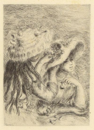Pierre-Auguste Renoir, 'Le Chapeau Epingle' (La Fille de Berthe Morisot et so Cousine)'