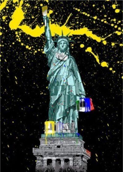 Mr. Brainwash, 'Liberty ', 2010