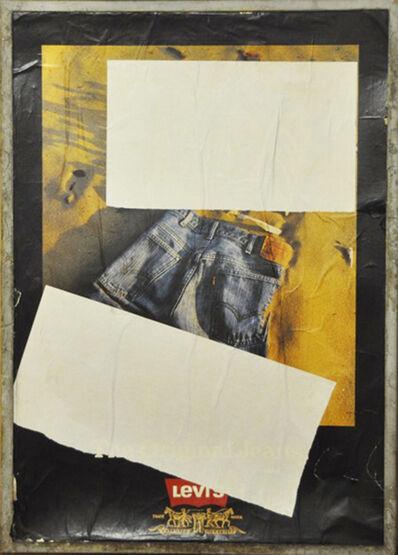 Mimmo Rotella, 'Johnny Walker', 1980