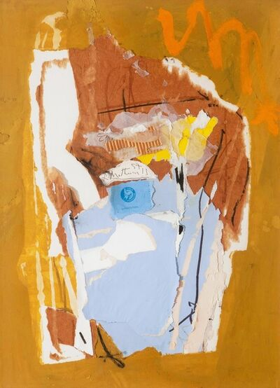Robert Motherwell, 'The Tearingness of Collaging', 1957