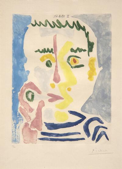 Pablo Picasso, 'Fumeur a la Cigarette Blanche', 1965