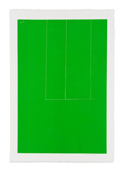 Robert Motherwell, 'London Series I: Untitled (Green)', 1971