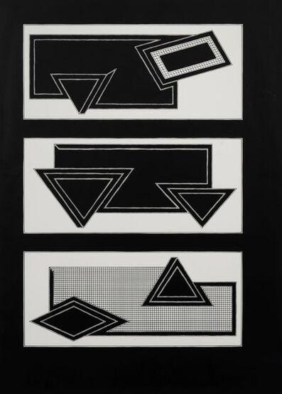 Frank Stella, 'Black Stack', 1970