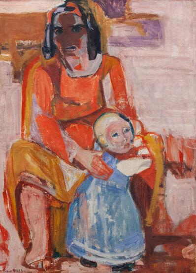 Albert Müller, 'Mutter mit kind', 1924