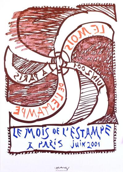 Pierre Alechinsky, 'Le mois de l'estampe', 2001