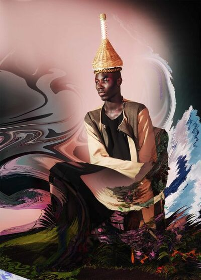 Namsa Leuba, 'Damien II, from the series NGL ', 2015