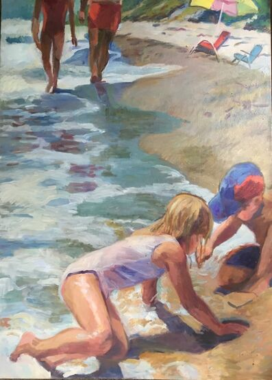 Virginia Marie Ferrara, 'Water Edge', ca. 1998