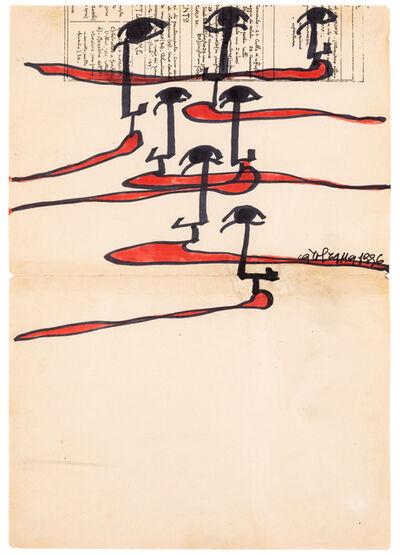 Carol Rama, 'Untitled (Lingue #02)', 1996