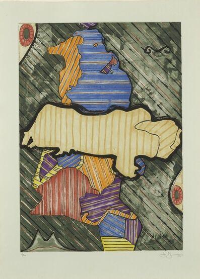 Jasper Johns, 'Green Angel (ULAE 253)', 1991
