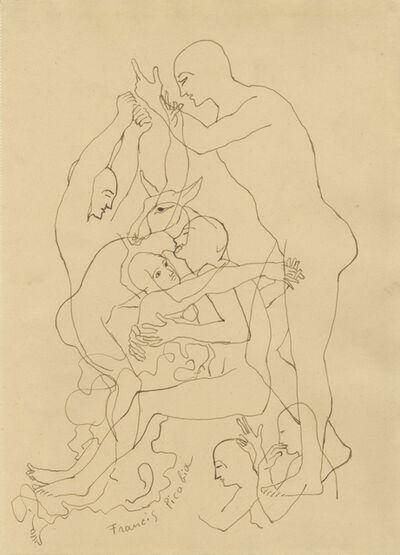 Francis Picabia, 'Sans Titre (Transparence)', ca. 1949