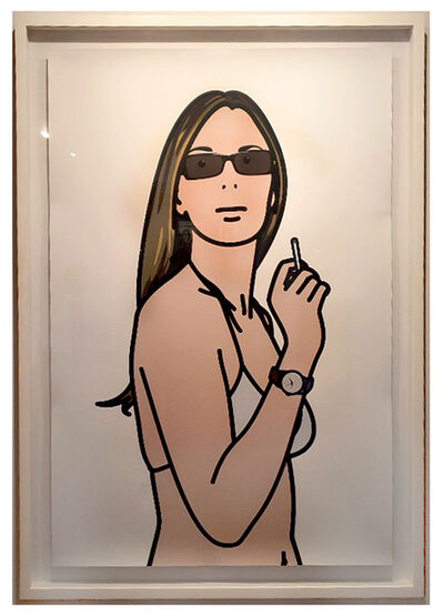 Julian Opie, 'Ruth Smoking 3 ', 2006