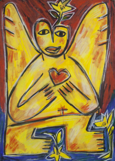 Pasquale Giardino, 'Angel with Heart', ca. 1998