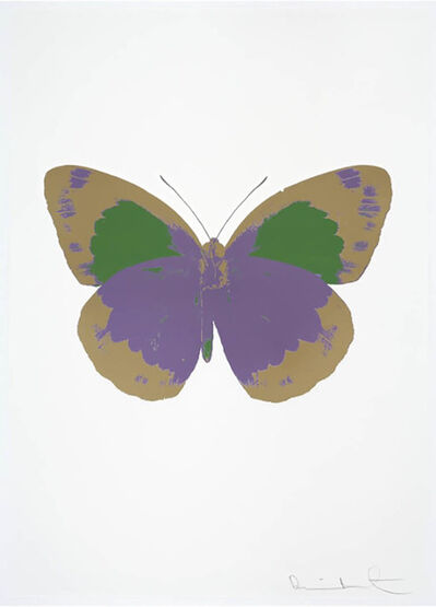 Damien Hirst, 'The Souls II - Aquarius - Cool Gold - Leaf Green', 2010