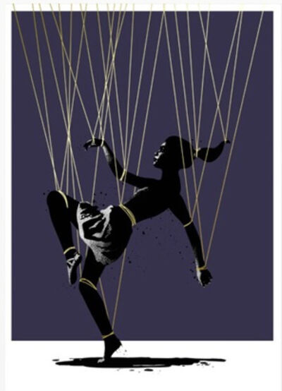 Eelus, 'Trip The Light Fantastic - Gold Thread Edition ', 2017