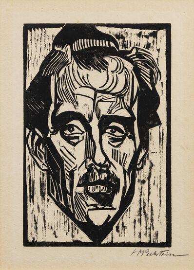 Max Pechstein, 'Bildnis Dr. Freudlich (Portrait of Dr. Freudlich)', 1918