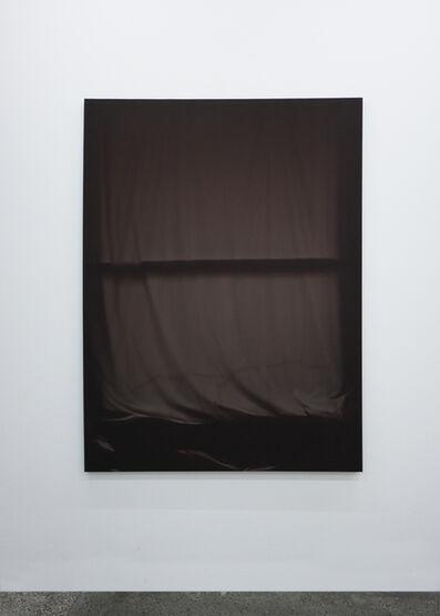 Chris Duncan, 'Bedroom Window (Brown) 6 Month Exposure. Spring-Fall 2014', 2015