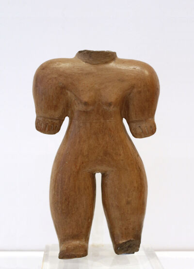 Unknown Pre-Columbian, 'Woman figure. Chorrera, Ecuador', 1500-500 BCE