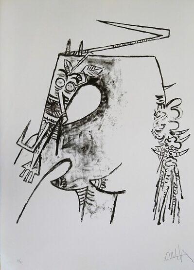 Wifredo Lam, 'Figure blanche et noire', 1975