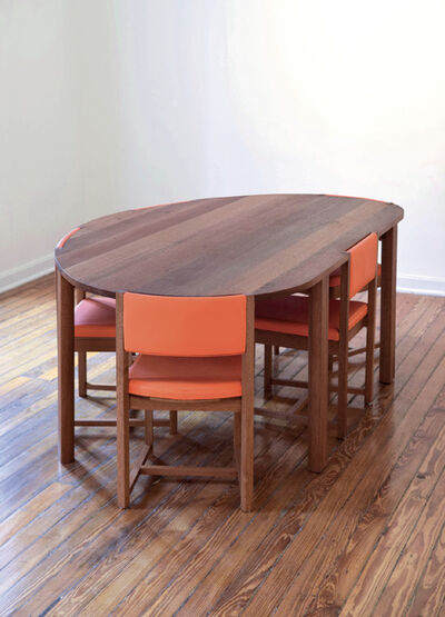 LANZA ATELIER, 'Qwasi Oval Table', 2021
