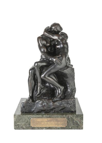 Auguste Rodin, 'Le baiser, 4ème réduction ou petit modèle', ca. 1918