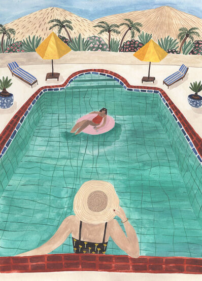 Sara Boccaccini Meadows, 'Fall In The Desert', 2021