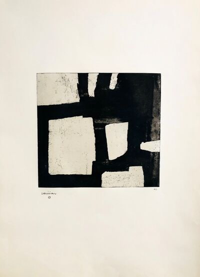 Eduardo Chillida, 'Bat Zapi', 1970