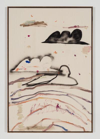Benoît Maire, 'Cloud Painting (Montréal)', 2017