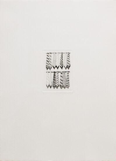 Wayne Thiebaud, 'Tie Rows', 1965