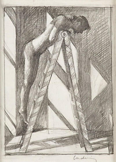 Daniel Ludwig, 'Study for Woman on a Ladder', 1997