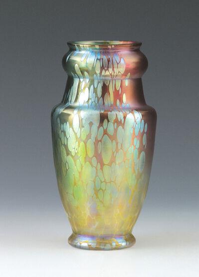 Loetz, 'Vase with decor: Phänomen Gre 299 Tricolor', Loetz, Klostermühle, c. 1900