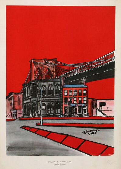Burhan Dogançay, 'A Corner in Brooklyn', 1964