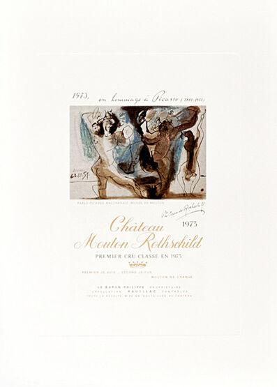 Pablo Picasso, 'Bacchanale ', 1973