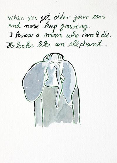 Markus Vater, 'Like an elephant', 2009