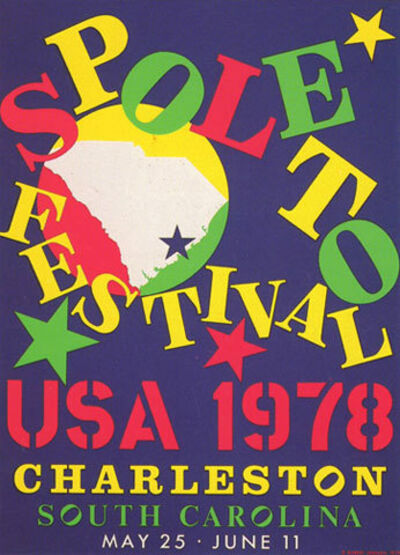 Robert Indiana, 'Spoleto Festival', 1968