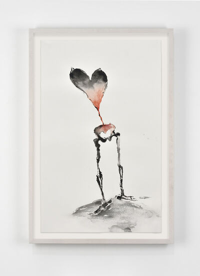 Annette Messager, 'Coeur Squelette', 2019